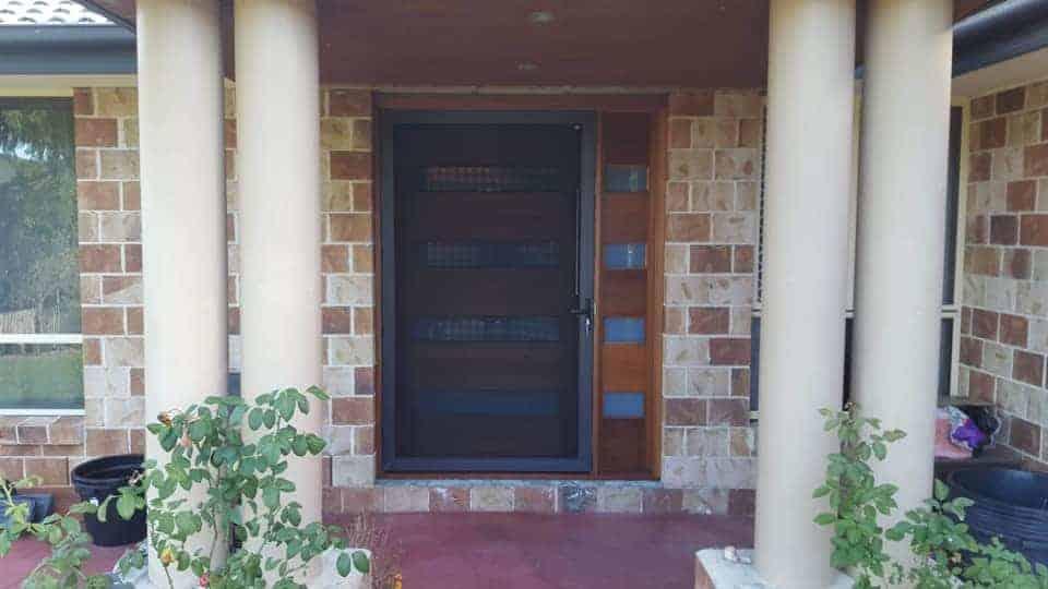 crimsafe custom security screen doors
